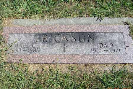 ERICKSON, AXEL L - Saunders County, Nebraska | AXEL L ERICKSON - Nebraska Gravestone Photos