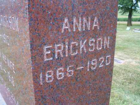 ERICKSON, ANNA - Saunders County, Nebraska | ANNA ERICKSON - Nebraska Gravestone Photos