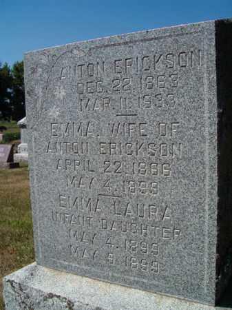 ERICKSON, ANTON - Saunders County, Nebraska | ANTON ERICKSON - Nebraska Gravestone Photos