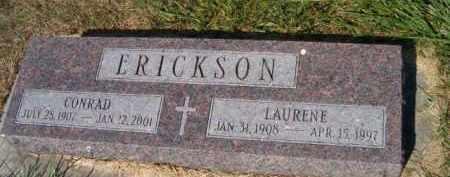 ERICKSON, LAURENE - Saunders County, Nebraska | LAURENE ERICKSON - Nebraska Gravestone Photos