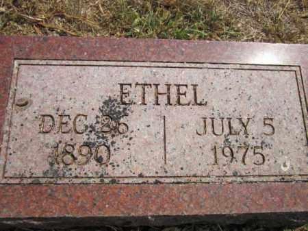 ERICKSON, ETHEL - Saunders County, Nebraska | ETHEL ERICKSON - Nebraska Gravestone Photos