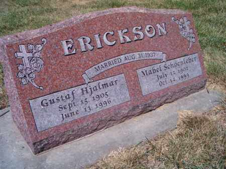 ERICKSON, MABEL - Saunders County, Nebraska | MABEL ERICKSON - Nebraska Gravestone Photos