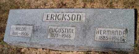 ERICKSON, HERMANDA - Saunders County, Nebraska | HERMANDA ERICKSON - Nebraska Gravestone Photos