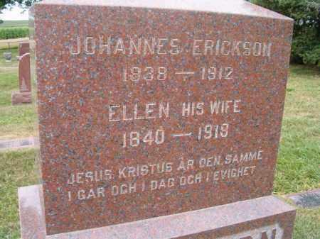 ERICKSON, JOHANNES - Saunders County, Nebraska | JOHANNES ERICKSON - Nebraska Gravestone Photos
