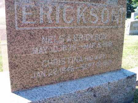 ERICKSON, NELS A - Saunders County, Nebraska | NELS A ERICKSON - Nebraska Gravestone Photos