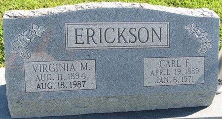 COPE ERICKSON, VIRGINIA M. - Saunders County, Nebraska | VIRGINIA M. COPE ERICKSON - Nebraska Gravestone Photos