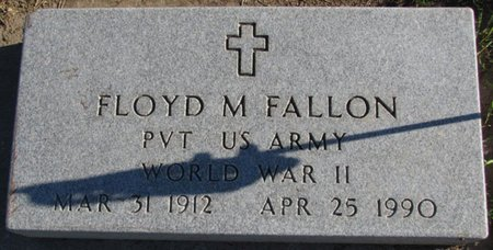 FALLON, FLOYD M. - Saunders County, Nebraska | FLOYD M. FALLON - Nebraska Gravestone Photos