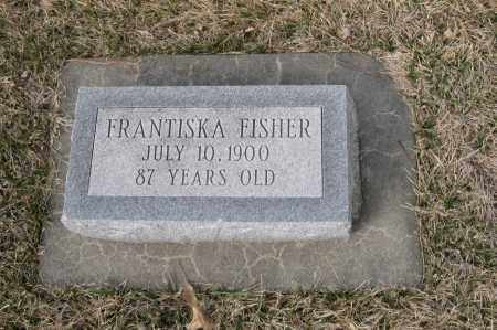 FISHER, FRANTISKA - Saunders County, Nebraska | FRANTISKA FISHER - Nebraska Gravestone Photos