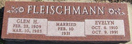 FITZPATRICK FLEISCHMANN, EVELYN - Saunders County, Nebraska | EVELYN FITZPATRICK FLEISCHMANN - Nebraska Gravestone Photos