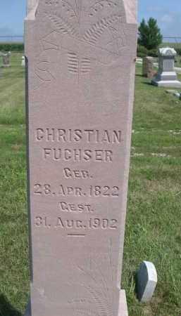 FUCHSER, CHRISTIAN - Saunders County, Nebraska | CHRISTIAN FUCHSER - Nebraska Gravestone Photos