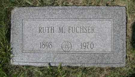 FUCHSER, RUTH M. - Saunders County, Nebraska | RUTH M. FUCHSER - Nebraska Gravestone Photos