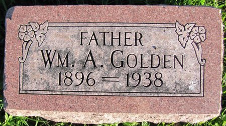 GOLDEN, WILLIAM A. - Saunders County, Nebraska | WILLIAM A. GOLDEN - Nebraska Gravestone Photos