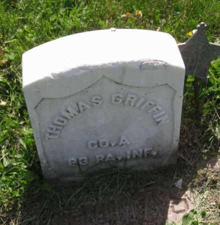 GRIFFIN, THOMAS - Saunders County, Nebraska   THOMAS GRIFFIN - Nebraska Gravestone Photos