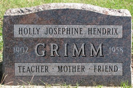 GRIMM, HOLLY JOSEPHINE - Saunders County, Nebraska | HOLLY JOSEPHINE GRIMM - Nebraska Gravestone Photos
