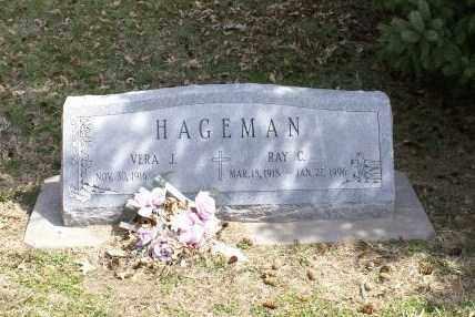 HAGEMAN, VERA J. - Saunders County, Nebraska | VERA J. HAGEMAN - Nebraska Gravestone Photos