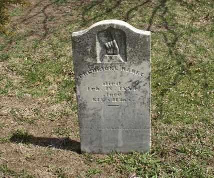 HANKE, FREDERICKE - Saunders County, Nebraska | FREDERICKE HANKE - Nebraska Gravestone Photos