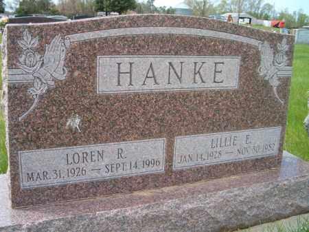 HANKE, LOREN R. - Saunders County, Nebraska | LOREN R. HANKE - Nebraska Gravestone Photos