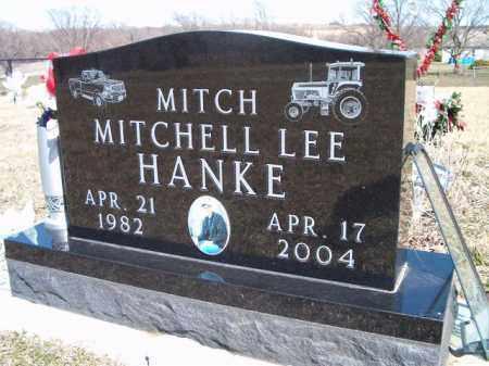 HANKE, MITCHELL LEE - Saunders County, Nebraska | MITCHELL LEE HANKE - Nebraska Gravestone Photos