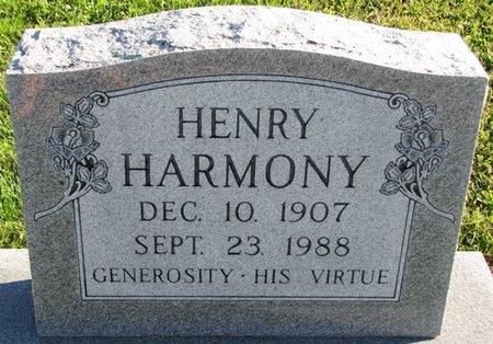 HARMONY, HENRY - Saunders County, Nebraska | HENRY HARMONY - Nebraska Gravestone Photos