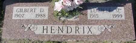 HENDRIX, GILBERT D. - Saunders County, Nebraska | GILBERT D. HENDRIX - Nebraska Gravestone Photos