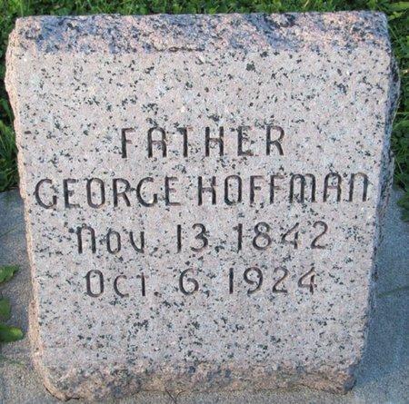 HOFFMAN, GEORGE - Saunders County, Nebraska | GEORGE HOFFMAN - Nebraska Gravestone Photos