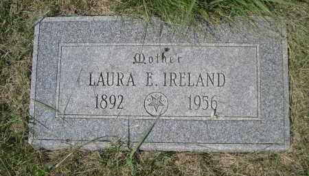 IRELAND, LAURA E. - Saunders County, Nebraska | LAURA E. IRELAND - Nebraska Gravestone Photos
