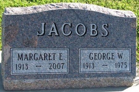 JACOBS, GEORGE W. - Saunders County, Nebraska | GEORGE W. JACOBS - Nebraska Gravestone Photos