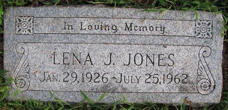 JONES, LENA J. - Saunders County, Nebraska   LENA J. JONES - Nebraska Gravestone Photos