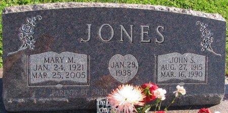 JONES, MARY MARIE - Saunders County, Nebraska | MARY MARIE JONES - Nebraska Gravestone Photos