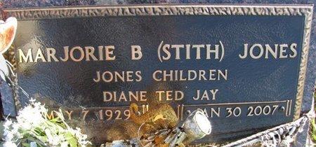 JONES, MARJORIE B. - Saunders County, Nebraska | MARJORIE B. JONES - Nebraska Gravestone Photos
