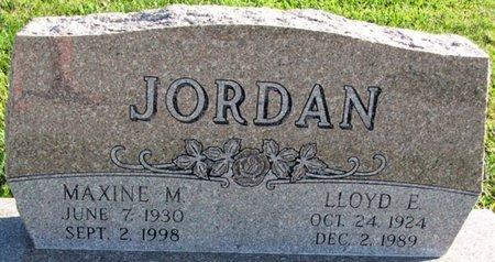 JORDAN, MAXINE M. - Saunders County, Nebraska | MAXINE M. JORDAN - Nebraska Gravestone Photos