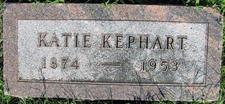 "KEPHART, KATHERINE ""KATIE"" - Saunders County, Nebraska | KATHERINE ""KATIE"" KEPHART - Nebraska Gravestone Photos"