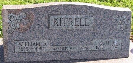 KITRELL, RUTH EILEEN - Saunders County, Nebraska   RUTH EILEEN KITRELL - Nebraska Gravestone Photos