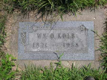 KOLB, WM. O. - Saunders County, Nebraska | WM. O. KOLB - Nebraska Gravestone Photos