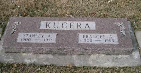 KUCERA, FRANCES A. - Saunders County, Nebraska | FRANCES A. KUCERA - Nebraska Gravestone Photos