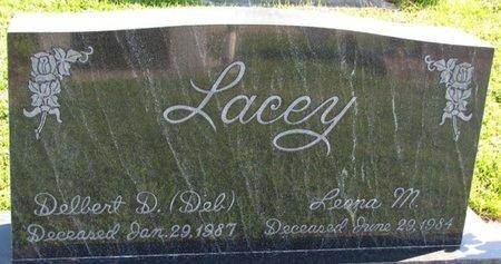 LACEY, DELBERT D. - Saunders County, Nebraska   DELBERT D. LACEY - Nebraska Gravestone Photos