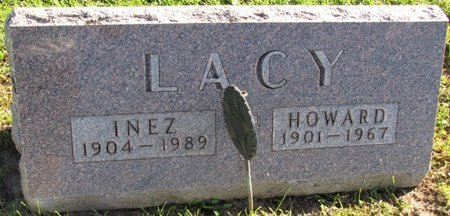 LACY, HOWARD - Saunders County, Nebraska | HOWARD LACY - Nebraska Gravestone Photos