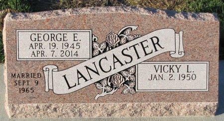 LANCASTER, VICKY L. - Saunders County, Nebraska | VICKY L. LANCASTER - Nebraska Gravestone Photos