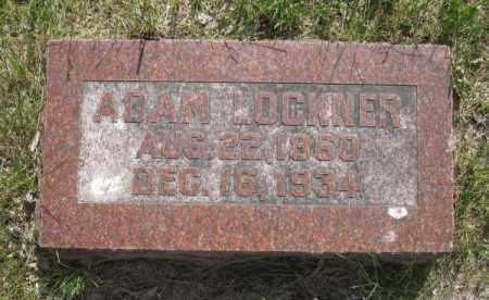 LOCKNER, ADAM - Saunders County, Nebraska | ADAM LOCKNER - Nebraska Gravestone Photos
