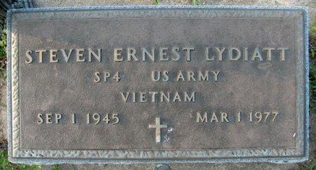 LYDIATT, STEVEN ERNEST - Saunders County, Nebraska | STEVEN ERNEST LYDIATT - Nebraska Gravestone Photos