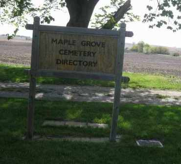 *MAPLE GROVE CEMETERY, DIRECTORY SIGN - Saunders County, Nebraska | DIRECTORY SIGN *MAPLE GROVE CEMETERY - Nebraska Gravestone Photos