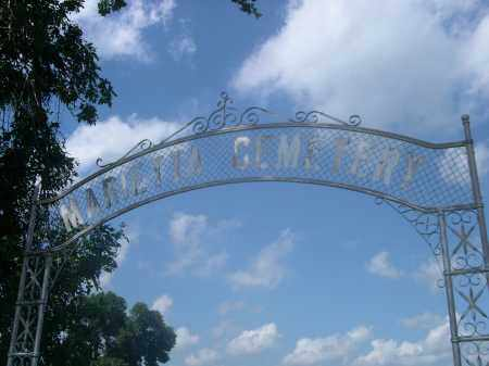 MARIETTA CEMETERY, ENTRANCE TO - Saunders County, Nebraska | ENTRANCE TO MARIETTA CEMETERY - Nebraska Gravestone Photos