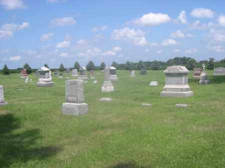 MARIETTA CEMETERY, VIEW OF - Saunders County, Nebraska | VIEW OF MARIETTA CEMETERY - Nebraska Gravestone Photos