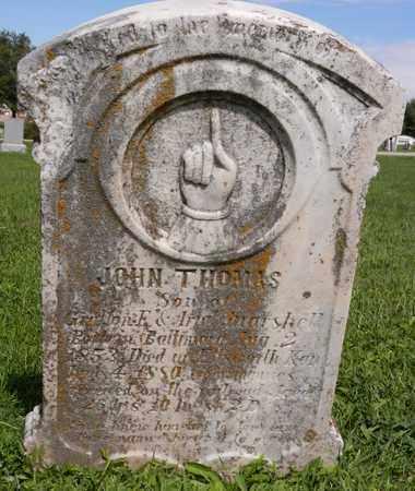 MARSHALL, JOHN THOMAS - Saunders County, Nebraska | JOHN THOMAS MARSHALL - Nebraska Gravestone Photos