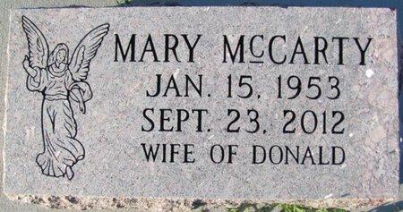 MCCARTY, MARY - Saunders County, Nebraska   MARY MCCARTY - Nebraska Gravestone Photos