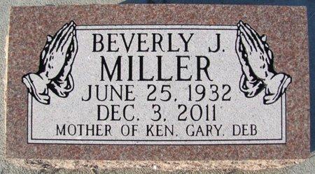MILLER, BEVERLY J. - Saunders County, Nebraska | BEVERLY J. MILLER - Nebraska Gravestone Photos