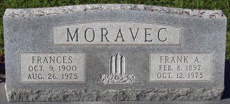 MORAVEC, FRANCES - Saunders County, Nebraska | FRANCES MORAVEC - Nebraska Gravestone Photos