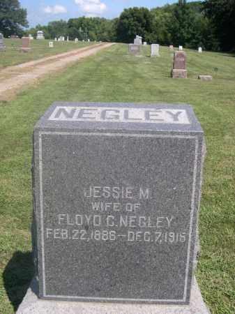 NEGLEY, JESSIE M. - Saunders County, Nebraska | JESSIE M. NEGLEY - Nebraska Gravestone Photos