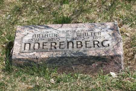 NOERENBERG, ARTHUR - Saunders County, Nebraska   ARTHUR NOERENBERG - Nebraska Gravestone Photos