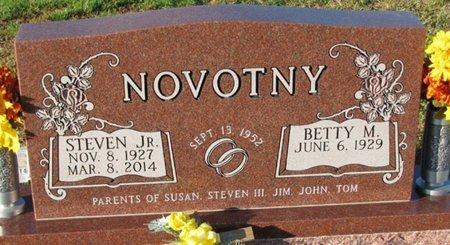 NOVOTNY, STEVEN JR. - Saunders County, Nebraska | STEVEN JR. NOVOTNY - Nebraska Gravestone Photos
